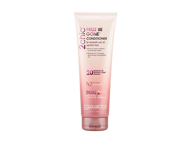 Giovanni 2chic Frizz Be Gone Conditioner, Shea Butter & Sweet Almond Oil , 8.5 fl oz / 250 mL