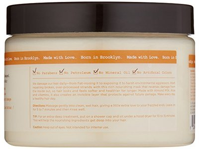 Carol's Daughter Almond Milk Ultra-Nourishing Hair Mask, 12 oz - Image 3