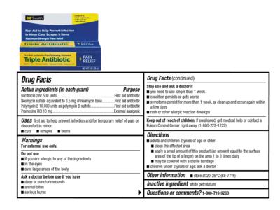 DG Health Triple Antibiotic Ointment, 1 oz