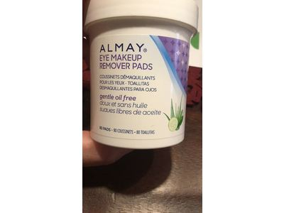 Almay Oil-Free Gentle Eye Makeup Remover Pads, 80 Count - Image 3