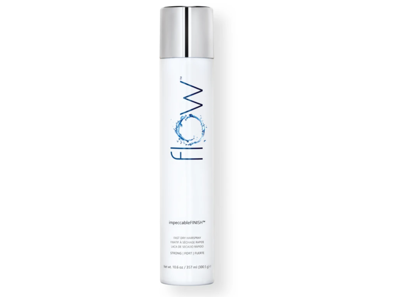 Flow Impeccable Finish Fast Drying Hairspray, 10.6 oz/357 mL