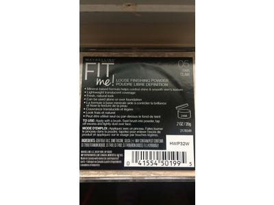 Maybelline Fit Me Loose Finishing Powder, 05 Fair, 0.7 oz - Image 4