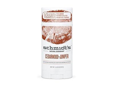 Schmidt's Deodorant Stick, Cedarwood + Juniper, 3.25 Ounce - Image 1