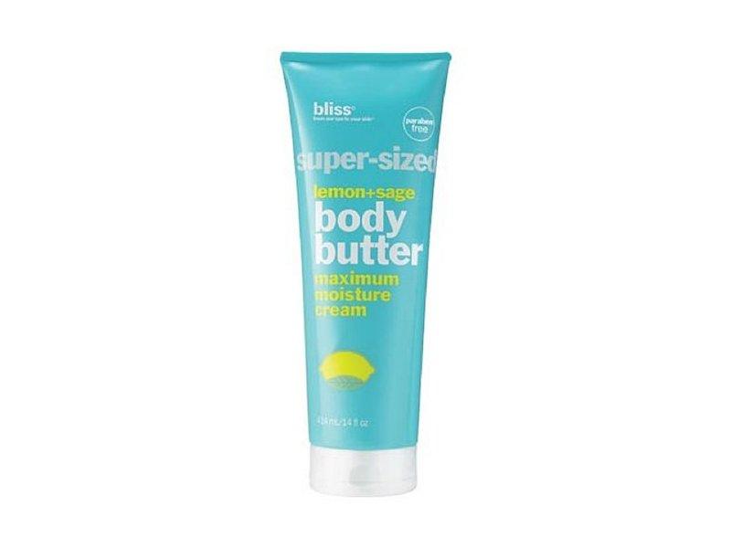 Bliss Super-Sized Lemon + Sage Body Butter, 14 oz