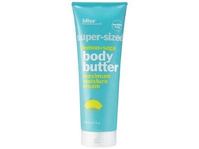 Bliss Super-Sized Lemon + Sage Body Butter, 14 oz - Image 1