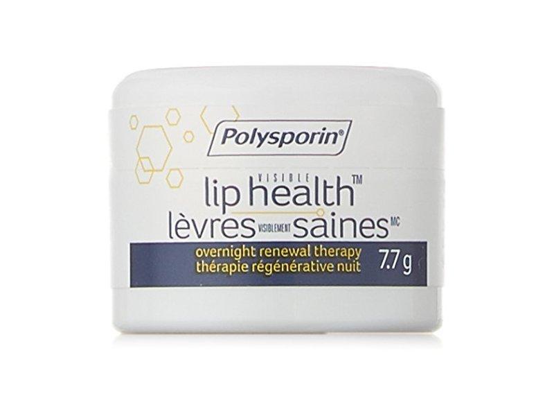 Polysporin Visible Lip Health Overnight Renewal Therapy, 7.7 G