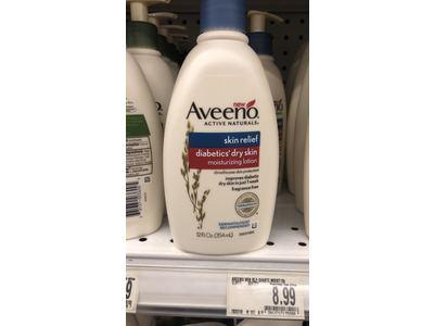 Aveeno Skin Relief Diabetics' Dry Skin Lotion, 12 Fluid Ounce - Image 5
