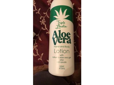Triple Lanolin Aloe Vera Hand and Body Lotion, 16 fl oz
