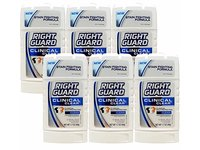 Right Guard Clinical Clear Solid Antiperspirant and Deodorant, Clean Scent ,1.7 Ounces (Pack of 6) - Image 2