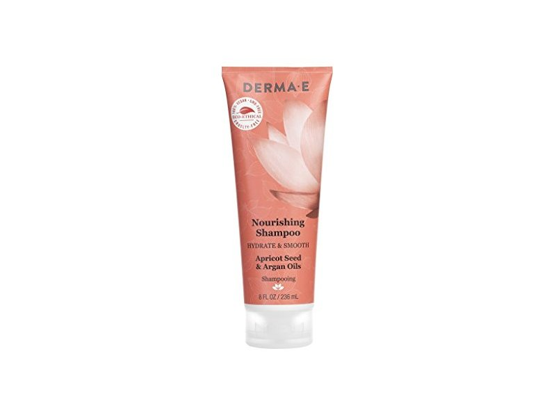 Derma E Hydrate & Smooth Nourishing Shampoo, 8 Fluid Ounce