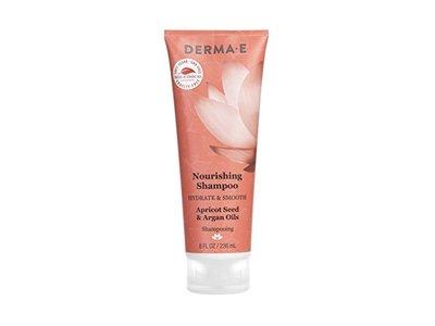 Derma E Hydrate & Smooth Nourishing Shampoo, 8 Fluid Ounce