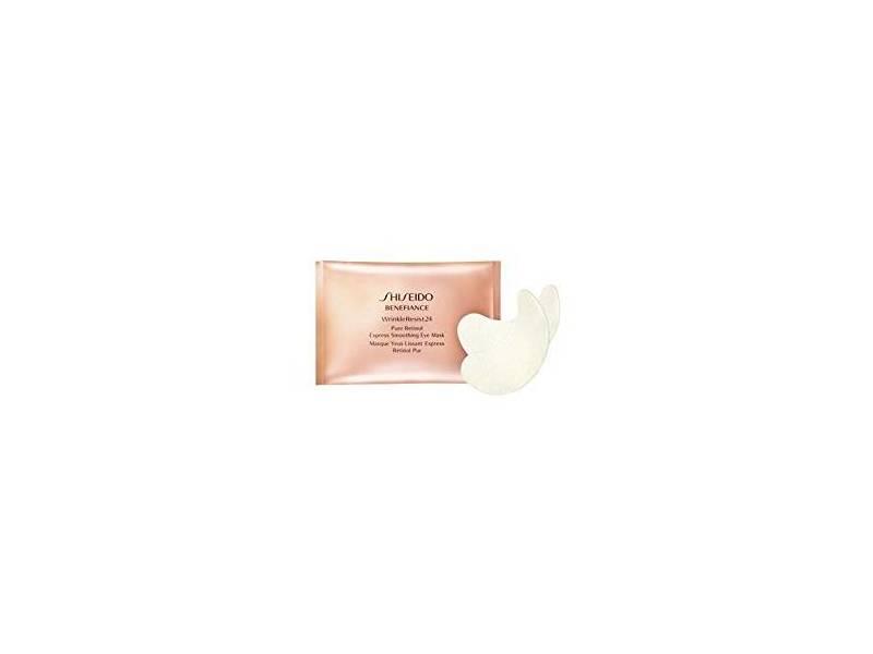 Shiseido Benefiance WrinkleResist24 Pure Retinol Express Smoothing Eye Mask, 3 packets