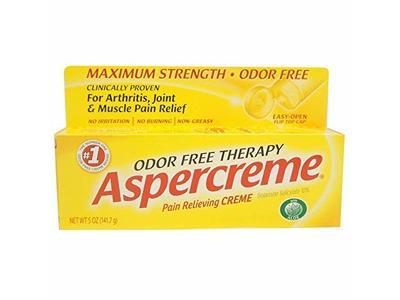 Aspercreme Pain Relieving Creme, 5 oz