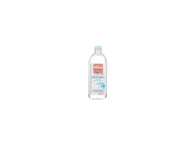 Mixa Micellar Water Optimal Tolerance for Face and Eyes, Fragrance Free