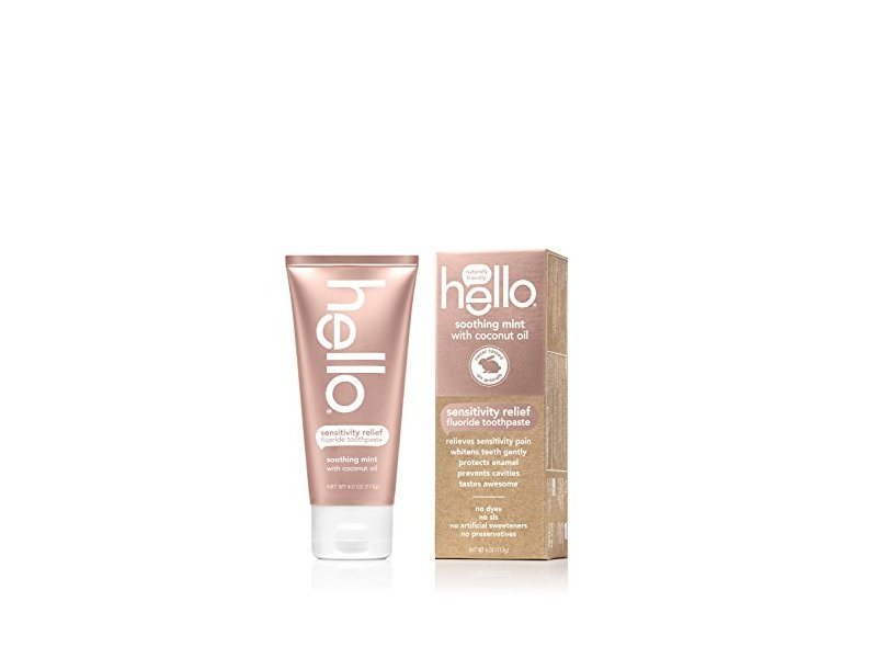 Hello Oral Care Sensitivity Relief Toothpaste, 4 Ounce