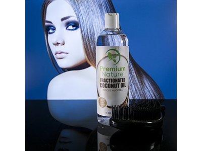 Premium Nature Fractionated Coconut Oil 16 oz, - Image 9