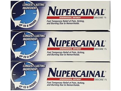 Nupercainal Hemorrhoidal Ointment Dibucaine 1% 2 Oz (Pack of 3) - Image 1