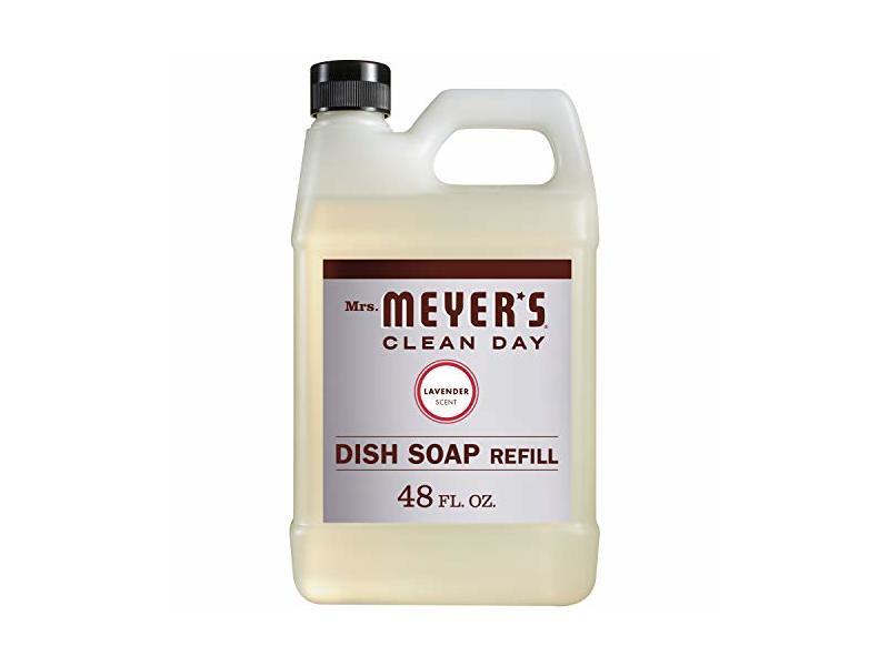 Mrs. Meyer's Liquid Dish Soap Refill, Lavender, 48 OZ