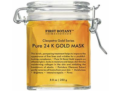 First Botany Cosmeceuticals Pure 24 K Gold Facial Mask 8.8 oz