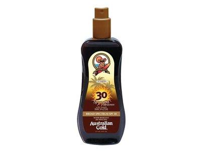 Australian Gold SPF 30 Spray Gel Sunscreen with Instant Bronzer, 8 Fl Oz - Image 1