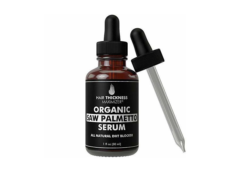 Hair Thickness Maximizer Organic Saw Palmetto Oil Serum, 1 oz