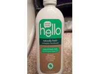 Hello Naturally Fresh Antiseptic Mouthwash, Fresh Mint, 16 fl oz - Image 3