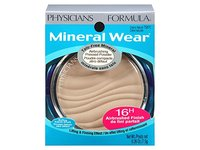 Physicians Formula Mineral Wear Talc-Free Mineral Makeup Airbrushing Pressed Powder SPF 30, Creamy Natural, 0.26 Ounce - Image 10