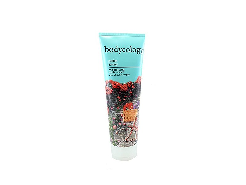 Bodycology Moisturizing Body Cream, Petal Away, 8.0 fl oz