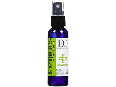 EO Products Hand Sanitizer Spray - Organic Peppermint - 2 Oz