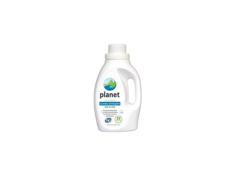 Planet 2X Ultra Laundry Detergent, Unscented, 50 fl oz