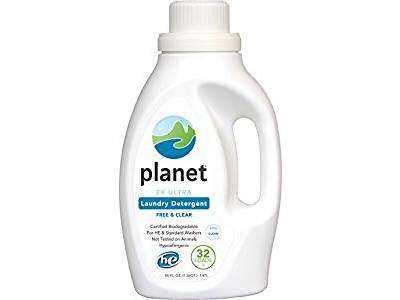 Planet 2X Ultra Laundry Detergent, Unscented, 50 fl oz