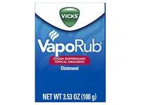 Vicks VapoRub Cough Suppressant Topical Analgesic Ointment, 3.53 oz - Image 2