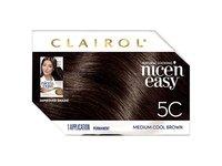 Clairol Nice'n Easy Permanent Hair Color, 5C Medium Cool Brown, 1 application - Image 11