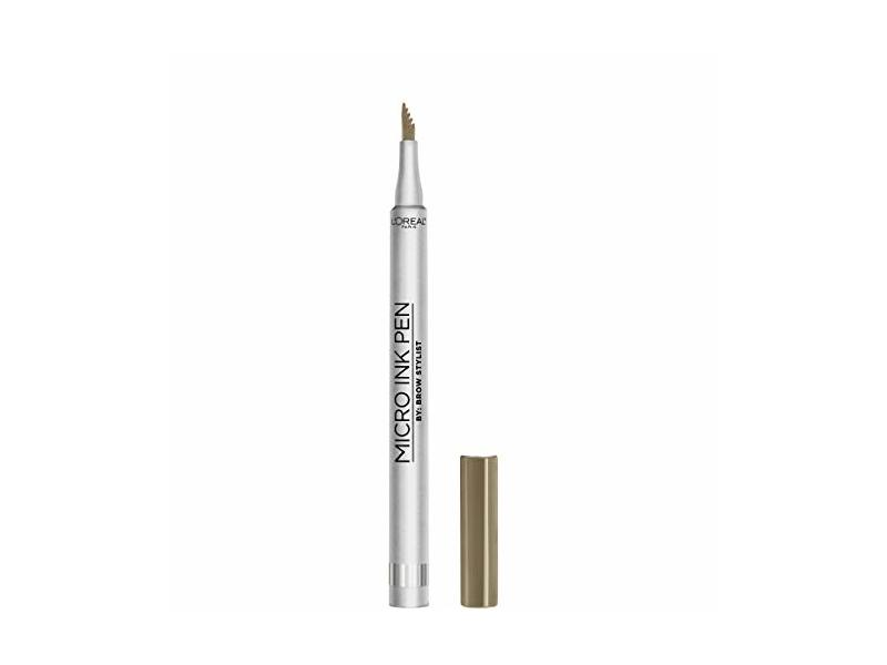 L'Oreal Paris Micro Ink Pen by Brow Stylist, Blonde, 0.033 fl. oz/1 mL