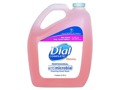 Dial Professional Antimicrobial Foaming Hand Wash, Original Scent, 3.78 L