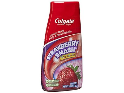 Colgate Kids 2-in-1 Toothpaste and Mouthwash, Strawberry Smash, 4.6 Fluid Ounce - Image 8