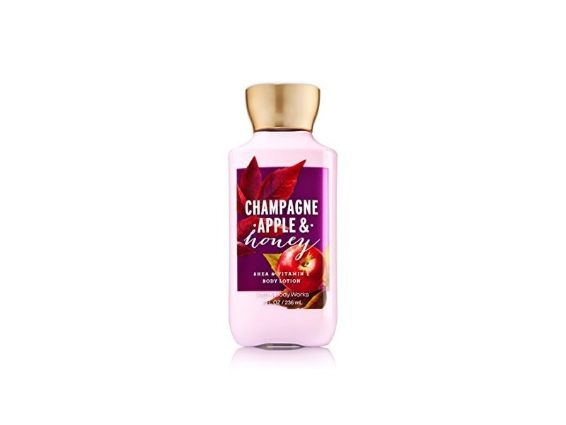 Bath & Body Works Body Lotion Champagne Apple & Honey, 8 Oz