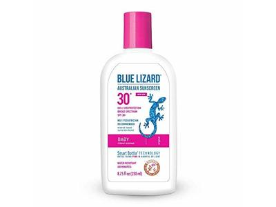 Blue Lizard Baby Mineral Sunscreen, SPF 30+ UVA/UVB Protection, 8.75 oz