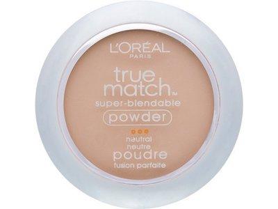 L'Oreal Paris True Match Super-Blendable Powder, Classic Ivory, 0.33 oz