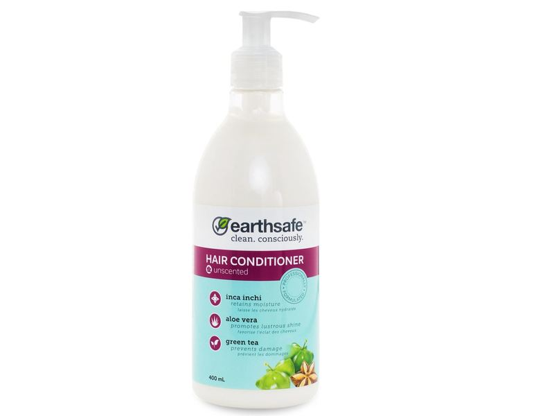 EarthSafe Hair Conditioner, Unscented, 400 mL