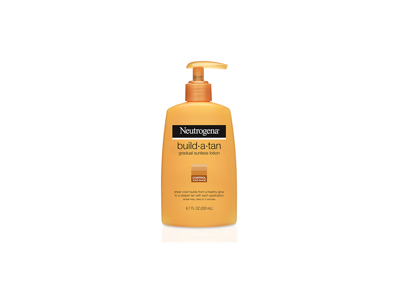 Neutrogena Build-a-tan Gradual Sunless Lotion, Johnson & Johnson