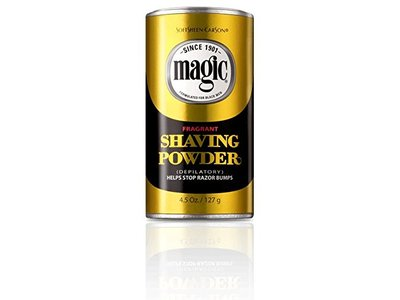 Magic Shaving Powder Gold Can - Image 1