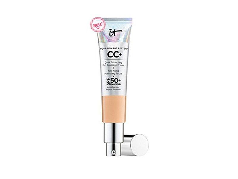 it Cosmetics Your Skin but Better CC Cream,SPF 50+, Medium Tan, .08 oz