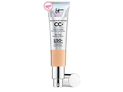 it Cosmetics Your Skin but Better CC Cream,SPF 50+, Medium Tan, .08 oz
