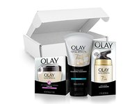 Olay Total Effects Day to Night Anti-Aging Skincare Kit with Cleanser, SPF & Night Cream - Image 8