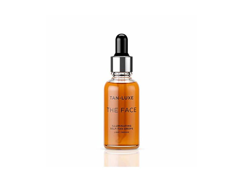 Tan-Luxe The Face Illuminating Self-Tan Drops 30, Light/Medium, 30 ml