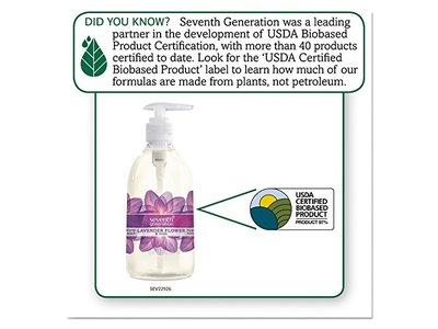 Seventh Generation Hand Wash, Lavender And Mint, 12 Ounce - Image 3