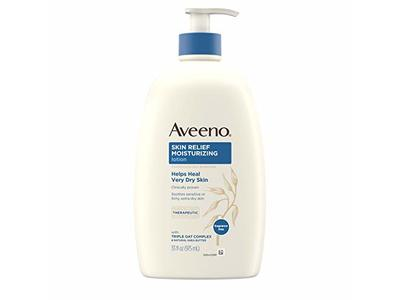 Aveeno Skin Relief Moisturizing Lotion for Sensitive Skin with Natural Shea Butter & Triple Oat Complex, 33 fl. oz - Image 1