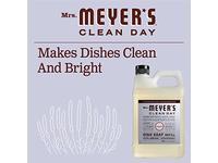 Mrs. Meyer's Liquid Dish Soap Refill, Lavender, 48 OZ - Image 7