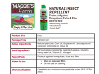 Maggie's Farm Natural Insect Repellent, 6 oz - Image 5